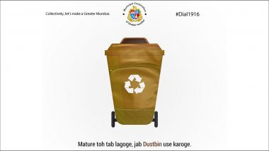 BMC Gets Into the 'Mature Bag' Bandwagon! Check the Educative Meme That Calls Dustbin the 'Most Mature Bag'