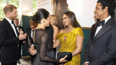 Jay-Z Dishes Parenting Advice to Prince Harry and Meghan Markle at The Lion King World Premiere