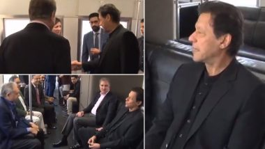 Imran Khan Takes Metro After Donald Trump Administration Sends No Officials to Receive Pakistan Prime Minister on His Three-Day Official Visit to US