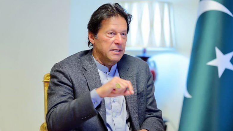 Imran Khan Meets with Kashmir Study Group in New York as Part of 'Mission Kashmir' Ahead of UNGA Address