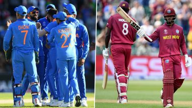 India vs West Indies Series 2019 Schedule in IST, Free PDF Download: Get Fixtures, Time Table With Match Timings and Venue Details of India's Tour of West Indies