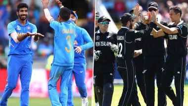 India vs New Zealand Dream11 Team Predictions: Best Picks for All-Rounders, Batsmen, Bowlers & Wicket-Keepers for IND vs NZ in ICC Cricket World Cup 2019 Semi-Final 1 Match