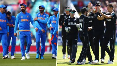India vs New Zealand, ICC World Cup 2019 Semi-Final: It's Advantage India if Rain Washes Away the Game in Manchester, Know How