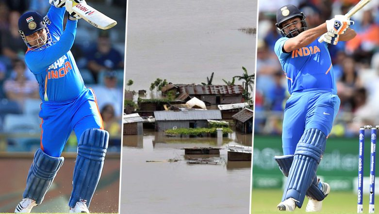 Assam Floods 2019: Rohit Sharma, Virender Sehwag & Other Cricketers Pray for People Affected by the Deluge (Read Tweets)