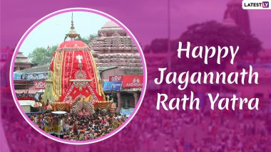 Happy Rath Yatra 2019 Wishes: WhatsApp Messages, Lord Jagannath Images, Quotes, Facebook Photos and SMS to Send Greetings on This Auspicious Day
