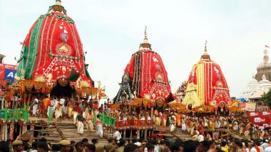 Jagannath Rath Yatra 2021: 144th Rath Yatra to Be Held in Ahmedabad on July 12 with COVID-19 Protocols, Says Gujarat Govt