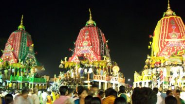 Jagannath Rath Yatra 2020 Live Streaming on DD Odia and OTV: Watch Live Online Telecast Chariot Festival From Puri