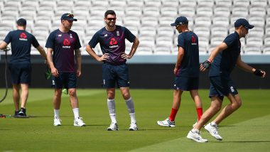 James Anderson Ruled Out of England-Ireland Test with Calf Injury