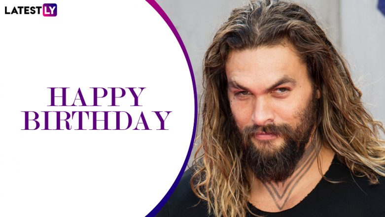 Jason Momoa Birthday Special: 5 Lesser-Known Things About the Aquaman Star That Will Make You Love Him Even More