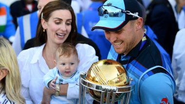 Jason Roy's Four-Month-Old Daughter Looking Cutely at World Cup 2019 Trophy Will Melt Your Heart, View Adorable Photo
