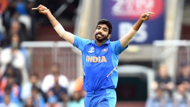 Jasprit Bumrah Takes Over Internet With Martin Guptill's Dismissal, Fans Celebrate With 'Boom Boom Bumrah' Tweets During IND vs NZ Semi-Final Game in CWC 2019