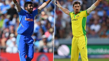 ICC Cricket World Cup 2019: Jasprit Bumrah & Mitchell Starc Look to Learn From Opposition Bowlers