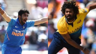 Jasprit Bumrah Praises Lasith Malinga, Says 'He Is the Best Yorker Bowler in the World'