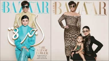 Three Generations of Jenners – Kris, Kylie and Stormi – Pose on Harper Bazaar Arabia Cover – View Pics!
