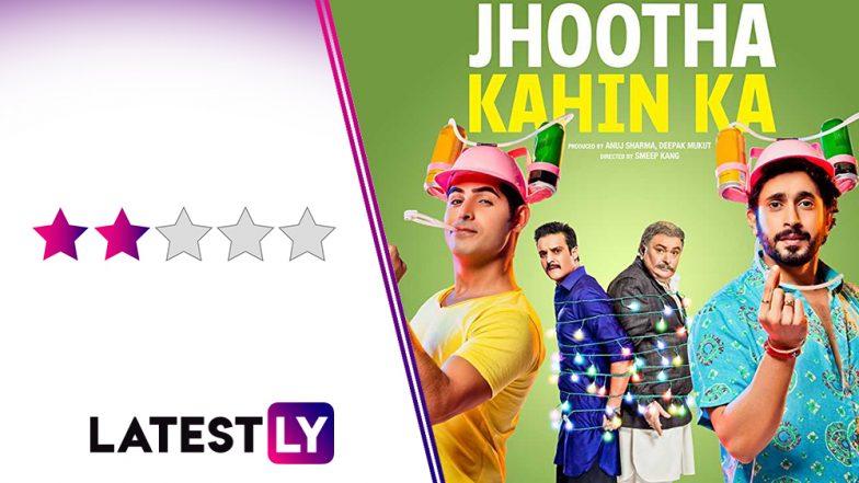 Jhootha Kahin Ka Movie Review: Rishi Kapoor, Sunny Singh and Omkar Kapoor's Film Lacks Genuine Comic Punches