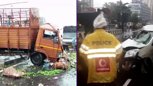 Mumbai: Truck Collides With Car in Jogeshwari; One Dead, 5 Injured