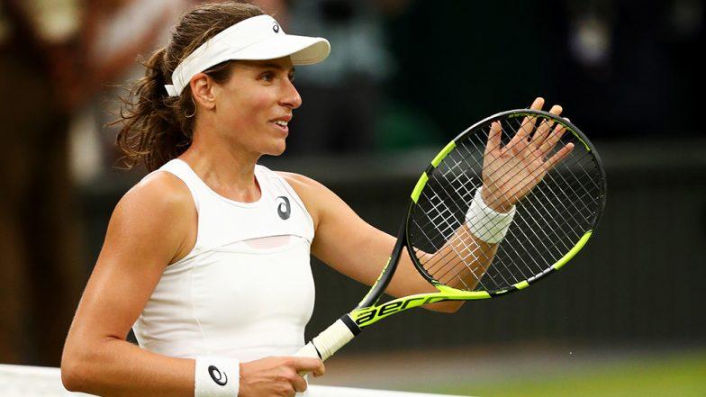Johanna Konta Vs Barbora Strycova Wimbledon 2019 Live