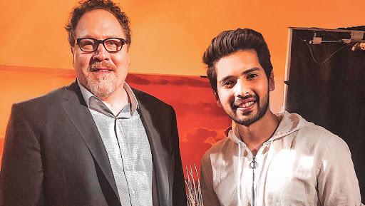 Armaan Malik Meets Jon Favreau at The Lion King's World Premiere in Los Angeles