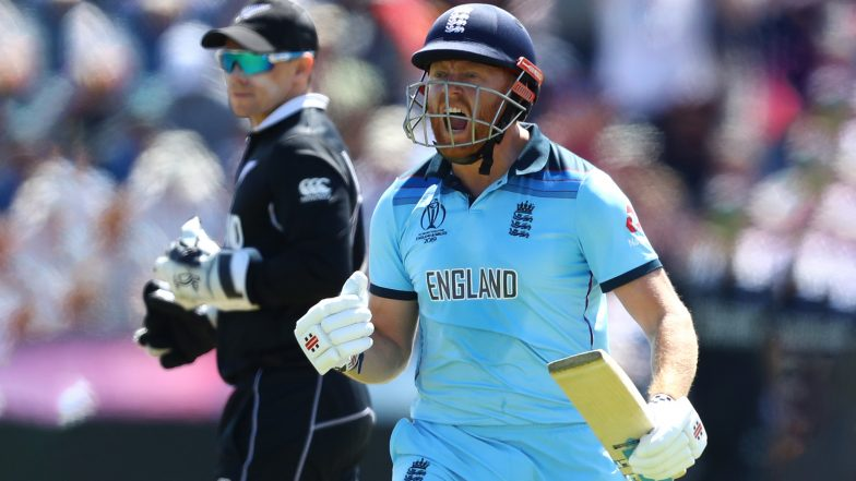 Jonny Bairstow Becomes First England Batsman to Slam Two Consecutive World Cup Centuries, Achieves Feat During ENG vs NZ CWC 2019 Match