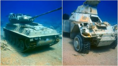 Jordan Unveils Underwater Military Museum Full of Tanks Aiming to Boost Tourism And the Sight is Pretty Cool! (Pics & Video)