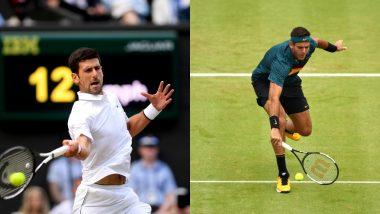 Novak Djokovic, Juan Martin del Potro Withdraw From Rogers Cup in Montreal