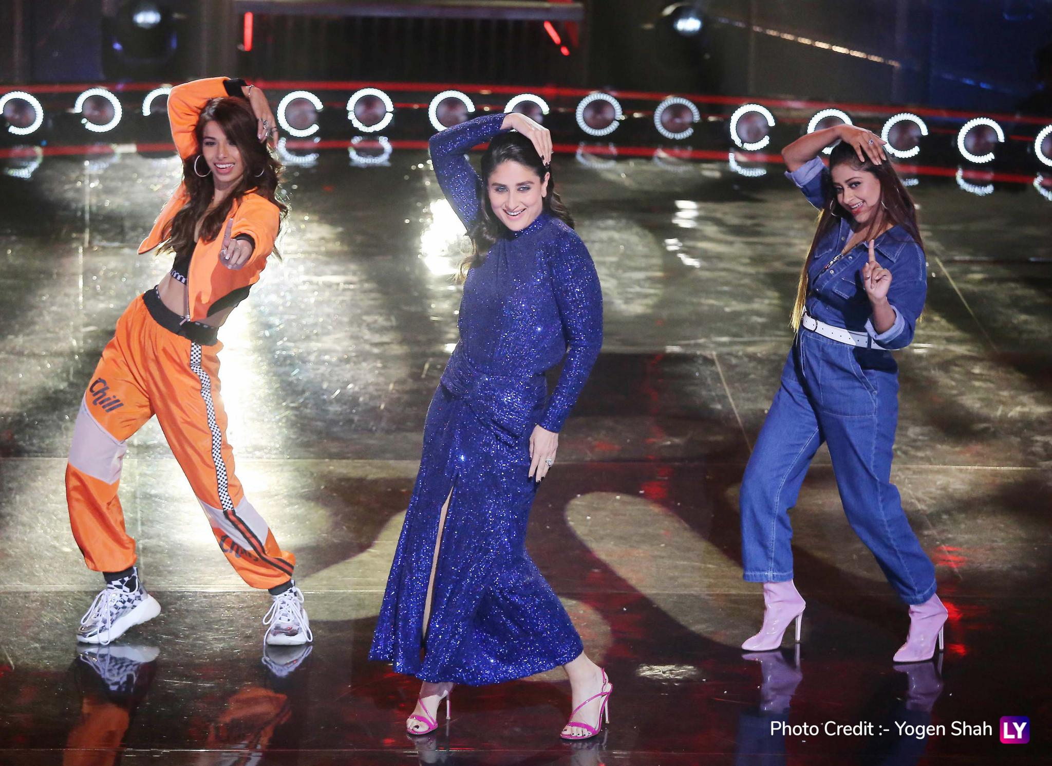 Kareena Kapoor Khan moves to her song on DID 7.