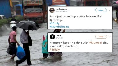 26 July: Heavy Rains Batter Mumbai, Reminding People of 2005 Floods 14 Years Ago on Same Date