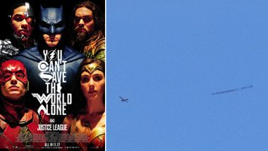 Justice League: Airplane Carrying 'Release the Snyder Cut' Banner Flying Over Comic Con Takes Fandom to Next Level