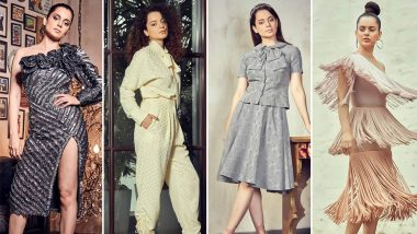 Kangana Ranaut's Style File for Judgementall Hai Kya Promotions was Whacky, Modish and So Much Like Bobby - View Pics