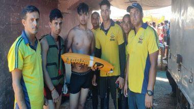 Kanwar Yatra 2019: SDRF Rescues Kanwariya from Drowning in Kangra Ghat in Haridwar