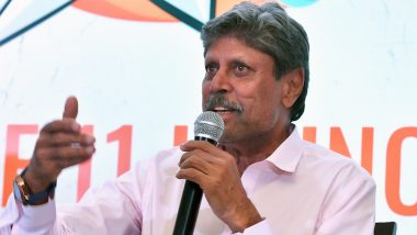 Kapil Dev Reveals His New Bald Look Inspired by Heroes Viv Richards and MS Dhoni (Watch Video)