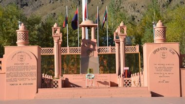 Kargil Vijay Diwas 2019: Preparations Underway at Dras War Memorial For July 26 Event, Indian Army Displays Weapons; View Pics And Video