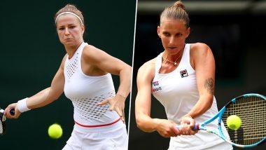 Karolina Pliskova vs Karolina Muchova, Wimbledon 2019 Live Streaming & Match Time in IST: Get Telecast & Free Online Stream Details of Round of 16 Tennis Match in India