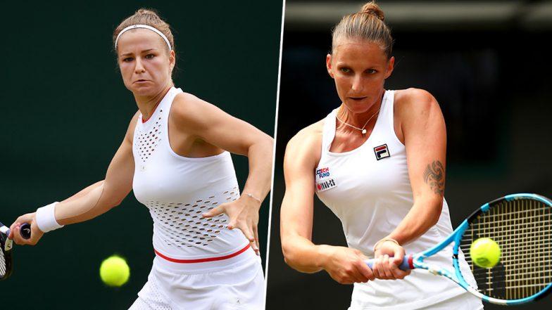 Karolina Pliskova vs Karolina Muchova Wimbledon 2019 Live Streaming & Match Time in IST Get Telecast & Free Online Stream Details of Round of 16 Tennis Match in India