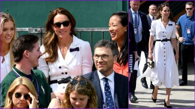 Humble Kate Middleton Ditches Her Wimbledon 2019 Royal Box for a Cheap Court 14 Seat to Cheer for British Wildcard Harriet Dart