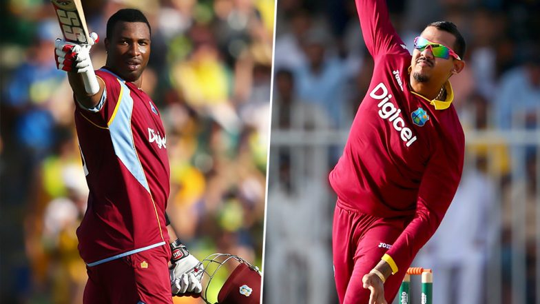 India vs West Indies 2019: Hosts Include Sunil Narine, Kieron Pollard in T20I Squad for First Two Matches