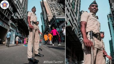 As #SareeTwitter Goes Viral on Social Media, Mumbai Police Joins In With #KhakiTwitter (Check Tweet)