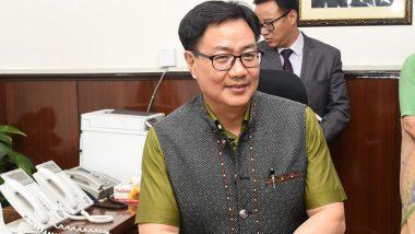 Sports Minister Kiren Rijiju Assures Elite Athletes Training Will Resume, Says Planning On