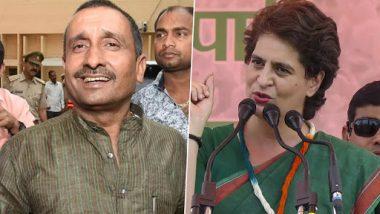 Unnao Rape Survivor Accident: Priyanka Gandhi Slams BJP for Not Expelling Accused Kuldeep Singh Sengar
