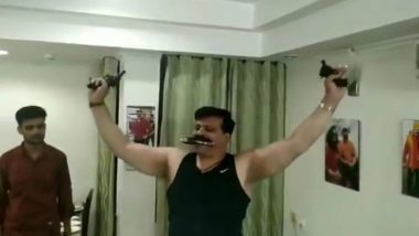 Kunwar Pranav Singh Champion, Seen Brandishing Guns in Viral Video, Suspended From BJP For 6 Years