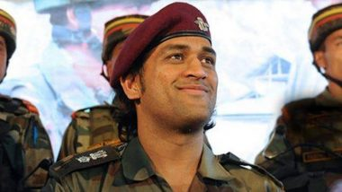 MS Dhoni Ends Stint With Territorial Army, Back in Delhi With Wife Sakshi and Daughter Ziva