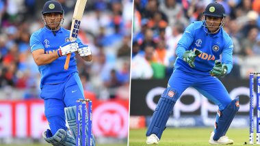 #ThankyouMSD Trends on Twitter After India's Exit From CWC 2019; Fans Acknowledge MS Dhoni for His Contribution to Indian Cricket
