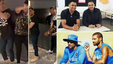 MS Dhoni Turns 38: Hardik Pandya, Rishabh Pant, Virender Sehwag and Other Indian Cricket Stars Wish Him Happy Birthday (View Pics)