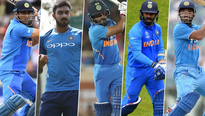 ICC T20 World Cup 2020: MS Dhoni to Dinesh Karthik, 5 Indian Players Who May Not Be Part of Team India Squad For Next Edition of Twenty20 World Cup