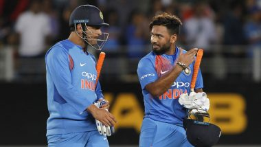 MS Dhoni's Shoes Are Big to Fill, Says Rishabh Pant Ahead of India vs West Indies Tour 2019