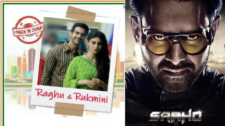 Prabhas' Saaho To Clash With Not Just Shraddha Kapoor's Chhichhore But Rajkummar Rao-Mouni Roy's Made In China Too?