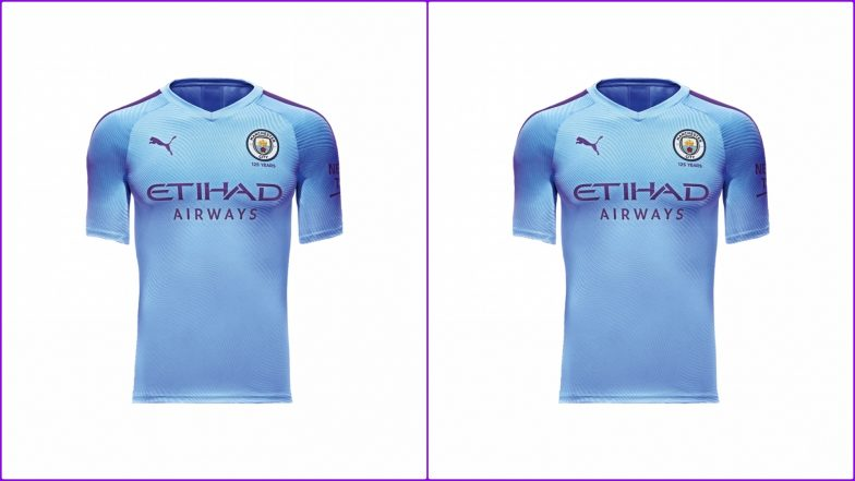 official photos 130be 29ffe Manchester City FC 2019–20 Home and Away Kits: PUMA's Man ...