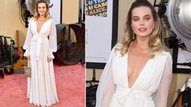 Cop or Drop: Margot Robbie in Chanel Gown at Once Upon A Time In Hollywood Premiere