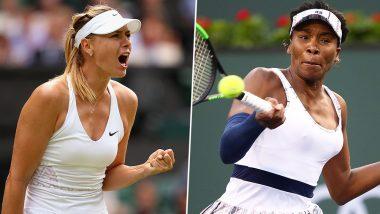 Maria Sharapova, Venus Williams Awarded Cincinnati Open Wildcards