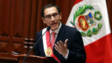 Peru's President Martin Vizcarra Calls for Early General Elections